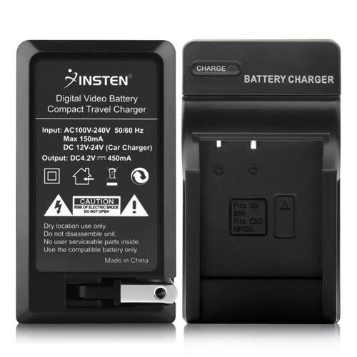 Insten Compact Battery Charger Set compatible with Sony NP-BN1/ Cybershot DSC-TX30