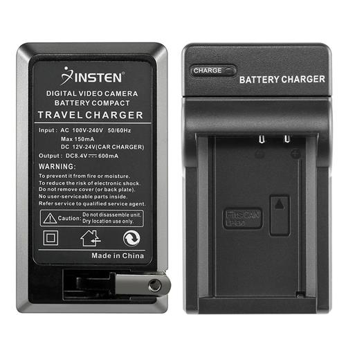 Insten Compact Battery Charger Set compatible with Canon LP-E10 Battery
