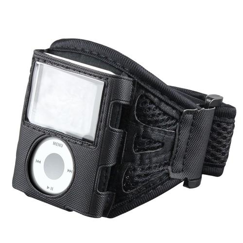 Insten Deluxe ArmBand compatible with Apple iPod nano 3rd Gen, Black