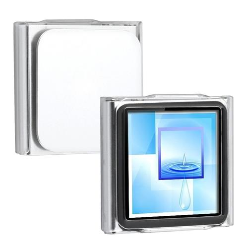 Insten Snap-in Crystal Case compatible with Apple iPod nano 6th Gen, Clear