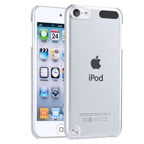 Insten Snap-in Crystal Case Compatible with Apple iPod touch 5th/6th Generation, Clear Rear