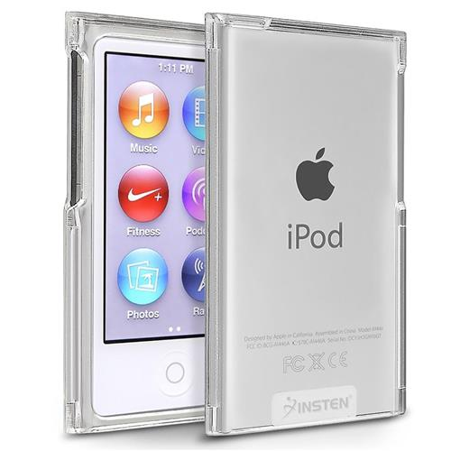Insten Snap-in Slim Case compatible with Apple iPod nano 7th Generation, Clear