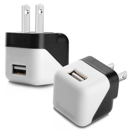 Insten USB Mini Travel Charger , Black