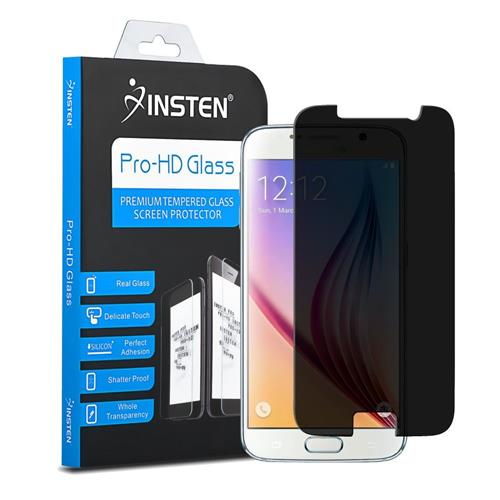 Insten Privacy Anti-Spy Tempered Glass Screen Protector Compatible With Samsung Galaxy S6