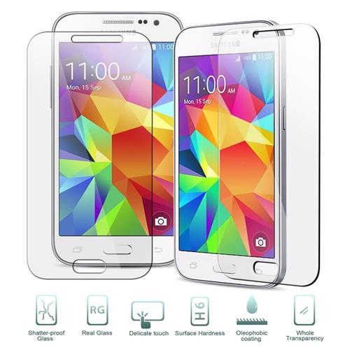 Insten Tempered Glass Screen Protector compatible with Samsung Galaxy Core Prime