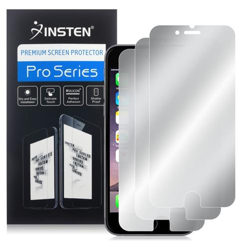 Insten 3-piece Set Mirror Screen Protector compatible with Apple iPhone 6 Plus/6s Plus