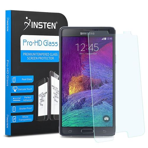 Insten Tempered Glass Screen Protector compatible with Samsung Galaxy Note 4 SM-N910