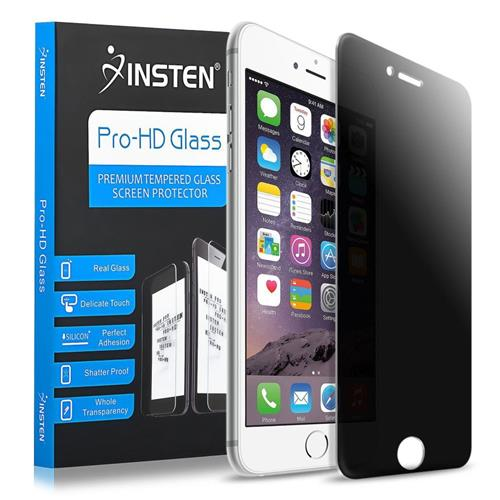 Insten Privacy Anti-Spy Tempered Glass Screen Protector Compatible With Apple iPhone 6/6s