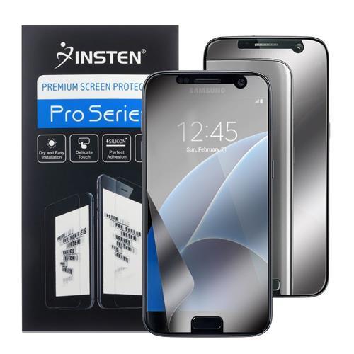 Insten Mirror Screen Protector compatible with Samsung Galaxy S7