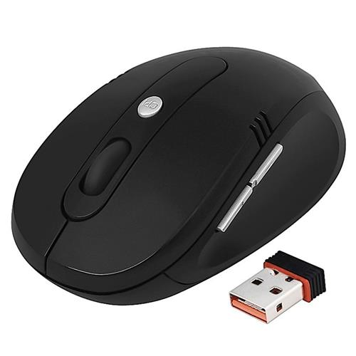 Insten 2.4G Cordless Wireless Optical Mouse , Black Ver3