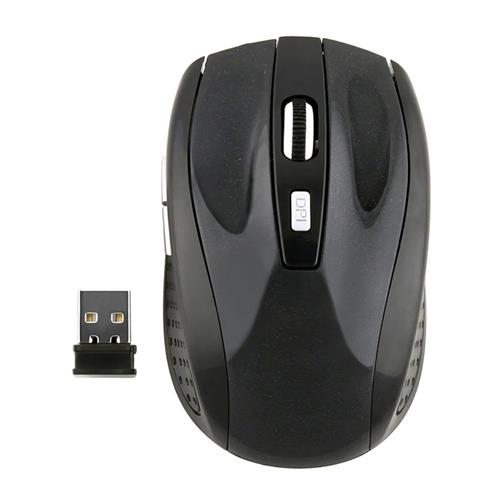 Insten Wireless Optical Mouse, Black