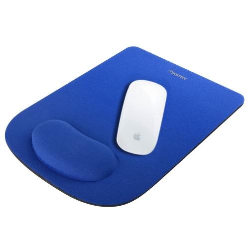 Insten Wrist Comfort Cushion Mouse Pad Mat For Optical/ Trackball Mouse Computer PC Laptop Desktop, Blue