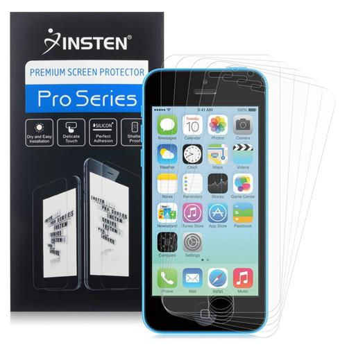 Insten 5-Pack Matte Anti-Glare Screen Protector Compatible With Apple iPhone 5/5C/5S/SE