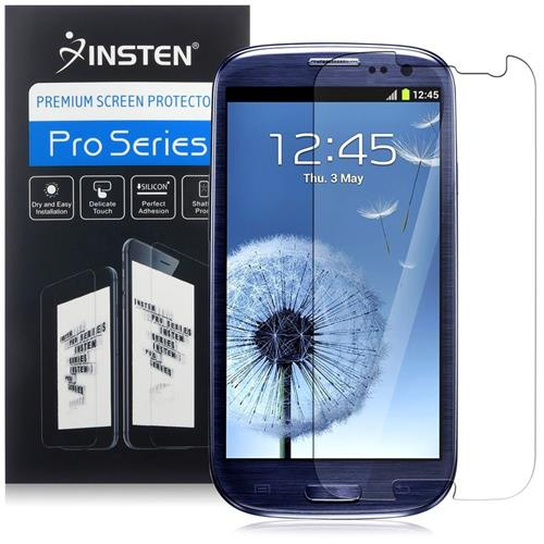 Insten Reusable Screen Protector Compatible with Samsung Galaxy S III / S3