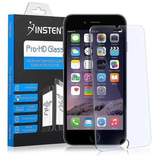 Insten Tempered Glass Screen Protector compatible with Apple iPhone 6/6s