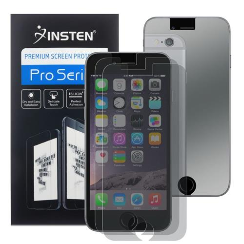 Insten 3-piece Set Mirror Screen Protector compatible with Apple iPhone 6/6s