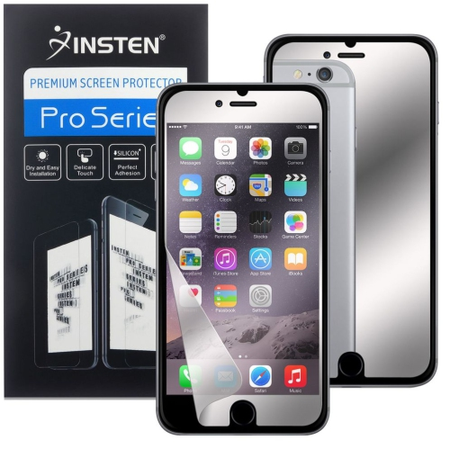 Insten Mirror Screen Protector compatible with Apple iPhone 7 Plus/8 Plus
