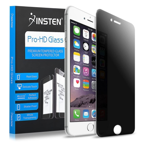 Insten Privacy Anti-Spy Tempered Glass Screen Protector Compatible With Apple iPhone 7/iPhone 8