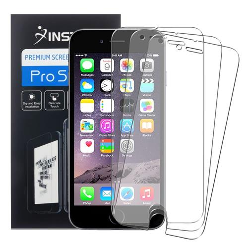 Insten 3-piece Set Anti-Glare Screen Protector compatible with Apple iPhone 6 Plus/6s Plus