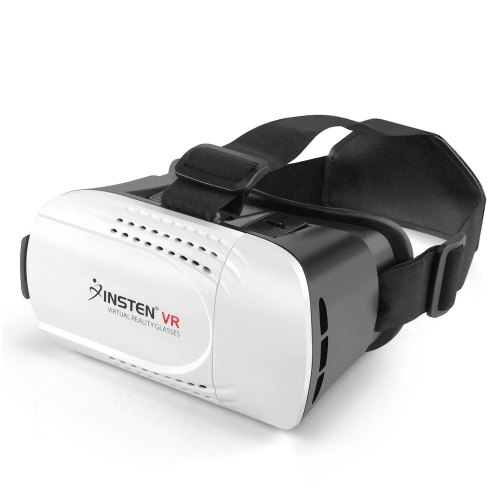 """Insten VR Virtual Reality Headset Glasses for 4.7"""" to 6.0"""" Screen Smartphone Android & IOS 3D Movie Video Game"""