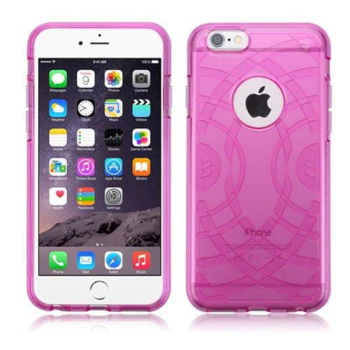 Insten Echo Gel Cover Case For Apple iPhone 6 Plus/6s Plus, Hot Pink