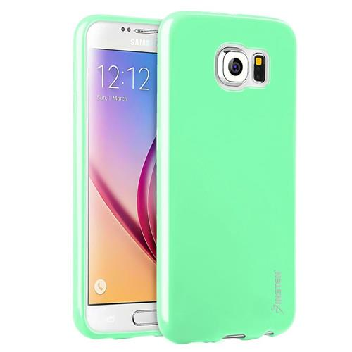 Insten Jelly Gel Case For Samsung Galaxy S6, Mint Green