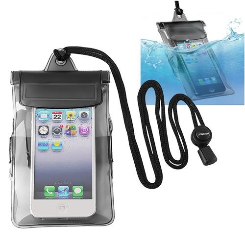 Insten Waterproof Bag Case for Cell Phone, Black