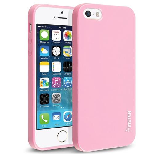 Insten TPU Cover Case For Apple iPhone 5/5S/SE, Pink