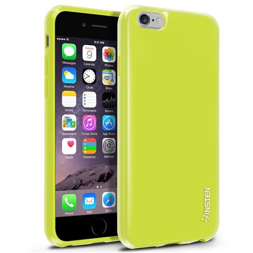 Insten TPU Case For Apple iPhone 6/6s, Yellow