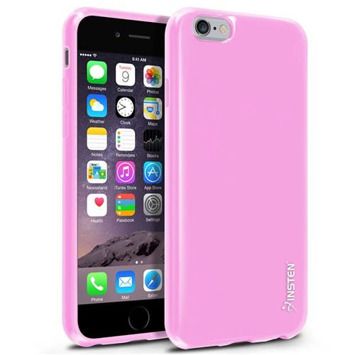 Insten TPU Cover Case For Apple iPhone 6/6s, Light Pink