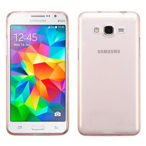 Insten Hard Transparent Crystal Case For Samsung Galaxy Grand Prime, Rose Gold