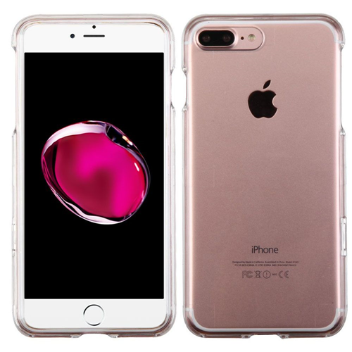 Insten Hard Crystal Cover Case For Apple iPhone 7 Plus/8 Plus, Clear