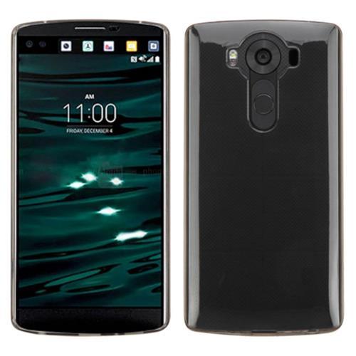 Insten Rubber Cover Case For LG V10, Smoke