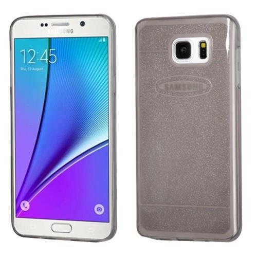 Insten Gel Cover Case For Samsung Galaxy Note 5, Smoke