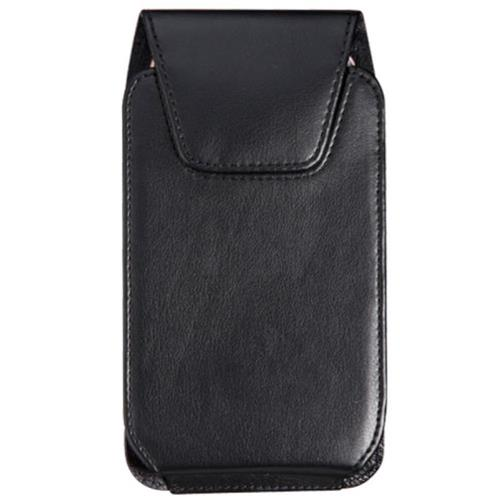 Insten Soft PU Leather Case Pouch with Belt Clip, Black