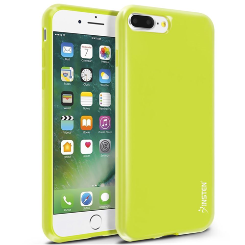 Insten Jelly TPU Case For Apple iPhone 7 Plus/8 Plus, Yellow