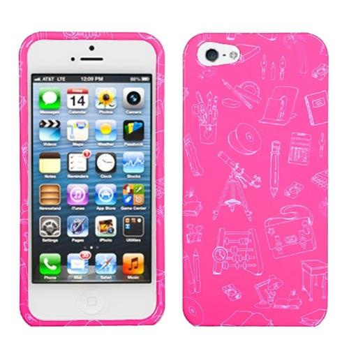 Insten Love Tree Hard Plastic Case For Apple iPhone 5/5S/SE, Pink