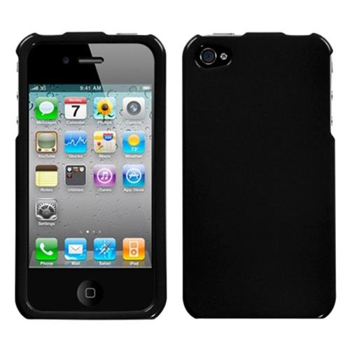 Insten Hard Case For Apple iPhone 4/4S, Black