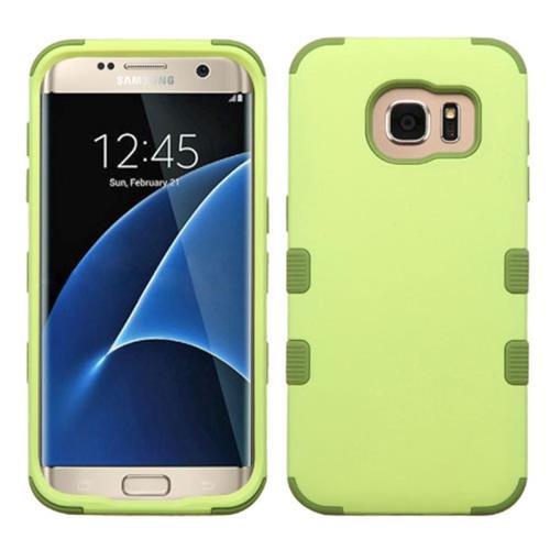 Insten Tuff Hard Hybrid Silicone Case For Samsung Galaxy S7 Edge, Green