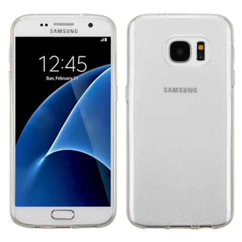 Insten Fitted Hard Shell Case for Samsung Galaxy S7 - White