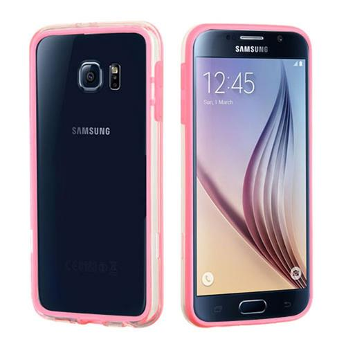 Insten Fitted Hard Shell Case for Samsung Galaxy S6 - Pink