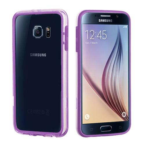 Insten Gel Bumper For Samsung Galaxy S6, Purple