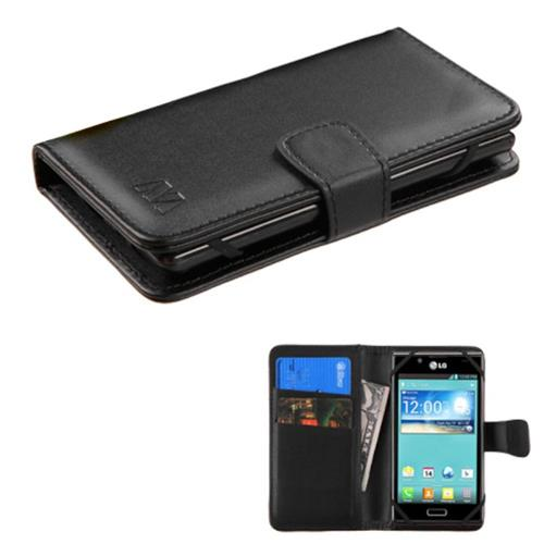 Insten Leather Case For Apple iPhone 5/5C/5S/SE iPod Touch 5th Gen/6th Gen and more,Black
