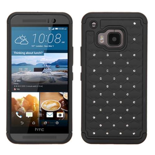Insten Fitted Soft Shell Case for HTC One M9 - Black