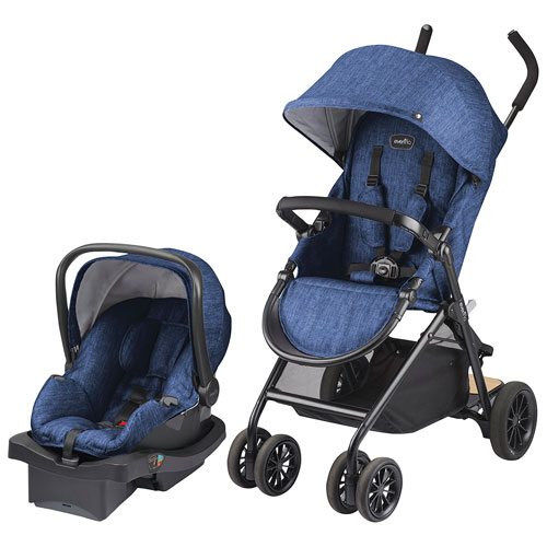 Evenflo Sibby Standard Stroller With LiteMax Infant Car Seat