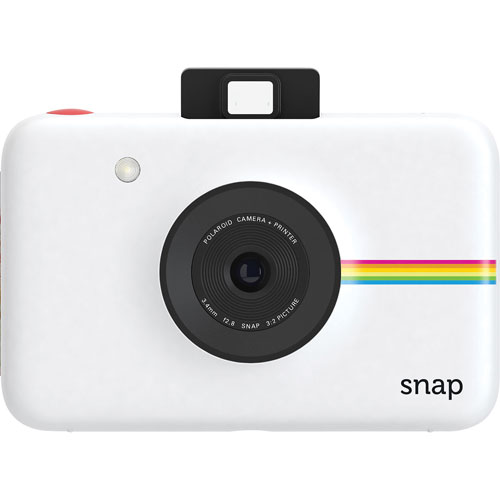 Polaroid SNAP 10MP Digital Camera with Instant Printer - White
