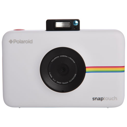 Polaroid SNAP TOUCH 13MP Digital Camera with Instant Printer - White