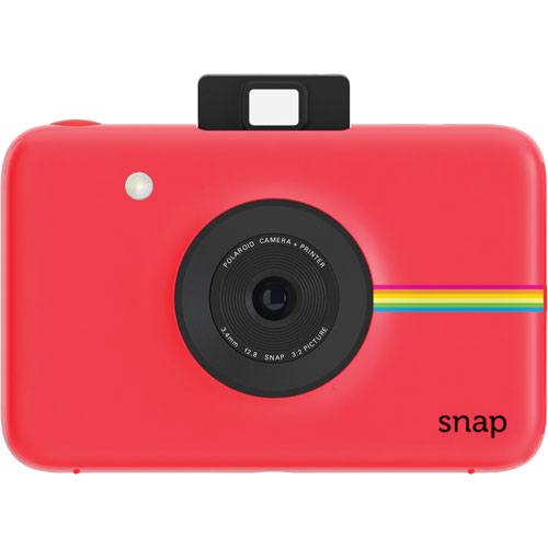 Polaroid SNAP 10MP Digital Camera with Instant Printer - Red