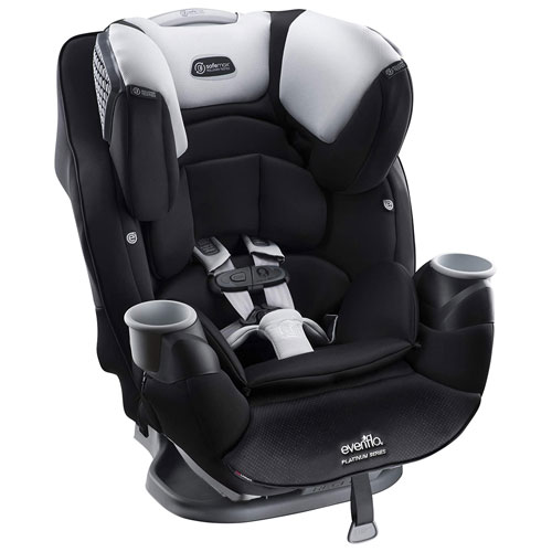 evenflo platinum safemax shiloh all in one car seat grey black convertible car seats best. Black Bedroom Furniture Sets. Home Design Ideas