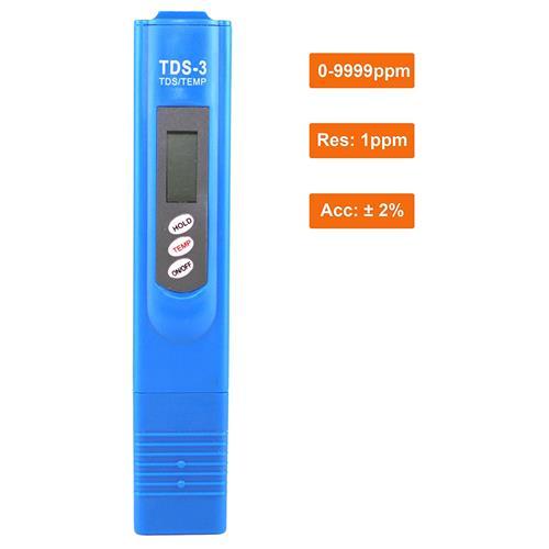Dr.Health (TM) TDS-3 Digital Pocket Size TDS Meter, Water Quality Purity Tester, 0-9990 ppm Measurement Range, 1 ppm Resolutio
